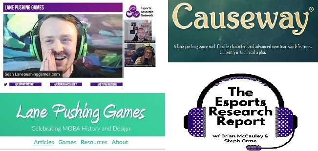 Listen about Lane Pushing Games (.com) and the game 'Causeway' with Sean Carton