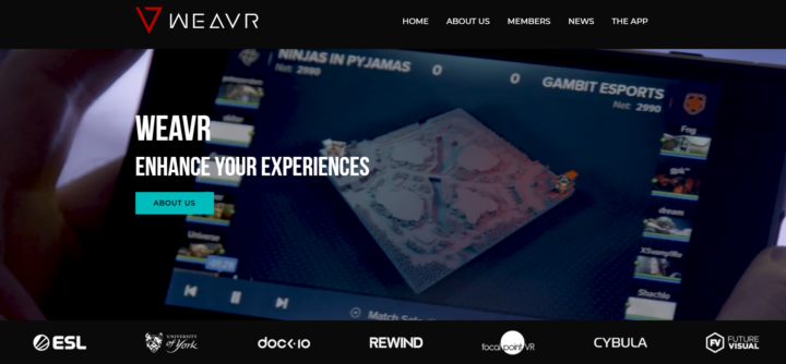 Innovation in esports: weavr.tv with Anders Drachen & Florian Block from the Arena Research Cluster
